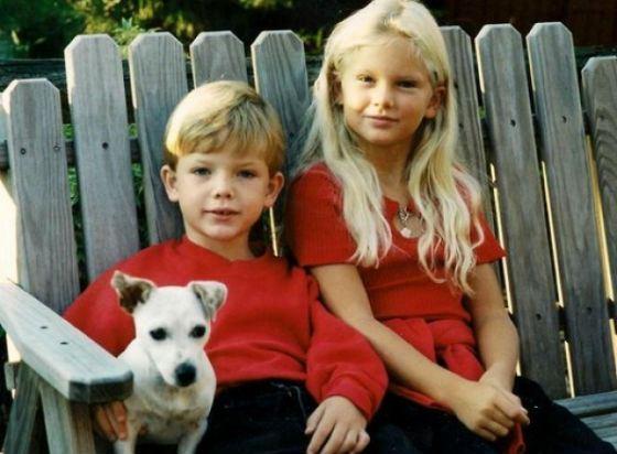 На фото: Тейлор Свифт и ее младший брат Остин Свифт