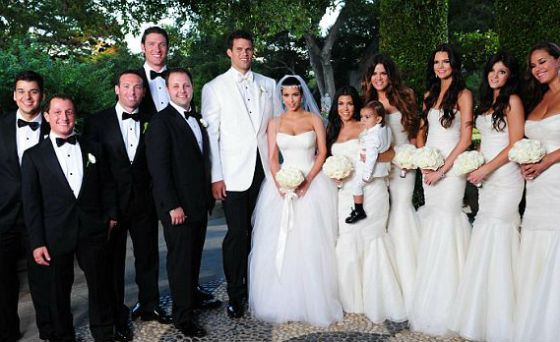 Свадьба Ким Кардашян и Криса Хамфриса оказалась пиаром