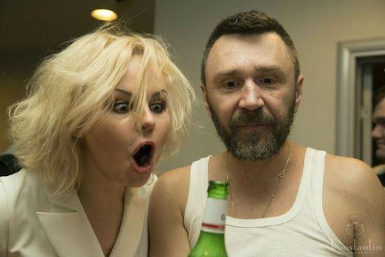 На фото: Сергей Шнуров и Алиса Вокс, экс-вокалистка Ленинграда
