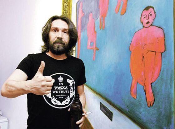 Свои картины Сергей Шнуров относит к жанру «брендреализма»