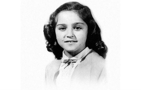 Мадонна в детстве