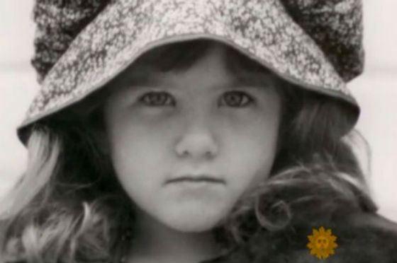 Детское фото Дженнифер Энистон