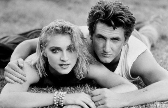Шон Пенн с Мадонной