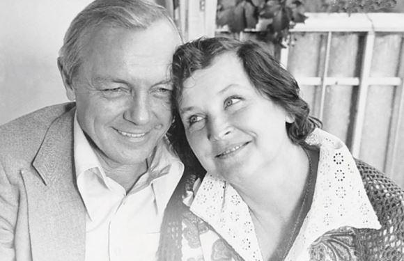 Кирилл Лавров и его жена Валентина