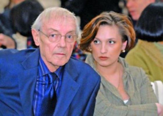Кирилл Лавров и его последняя любовь Анастасия Лозовская