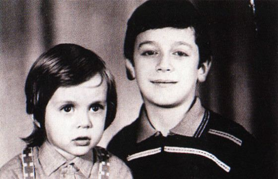 Марк Тишман со старшим братом