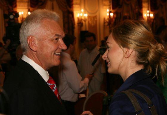 Геннадий Тимченко с дочерью Ксенией