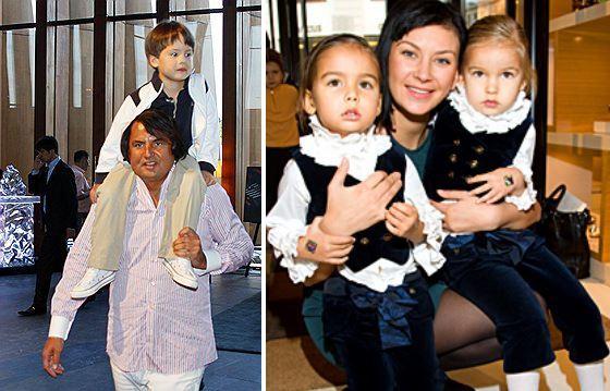 Рустам Тарико и его дети