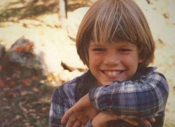 Мэтт Дэймон в детстве