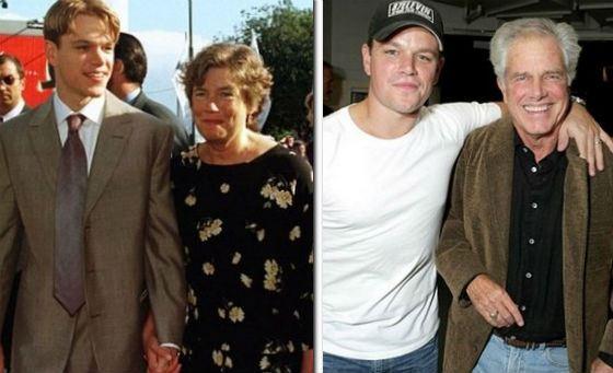 Родители Мэтта Дэймона: Нэнси и Кент