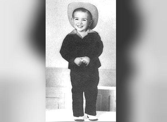 Детское фото Томми Ли Джонса (1953 год)