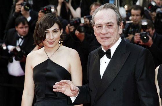 Томми Ли Джонс и его дочь Виктория