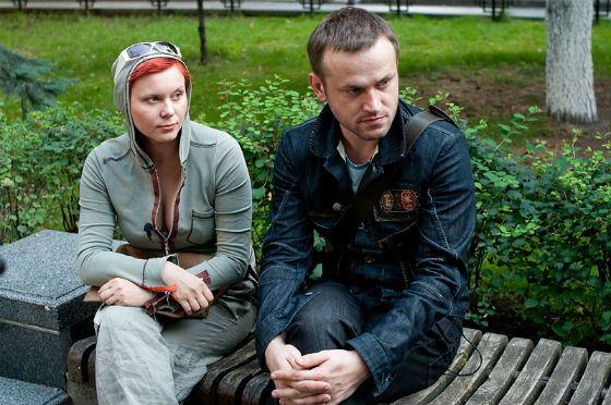 На фото: Яна Троянова и ее муж Василий Сигарев