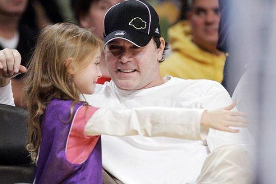 Рэй Лиотта и его дочка Карсен