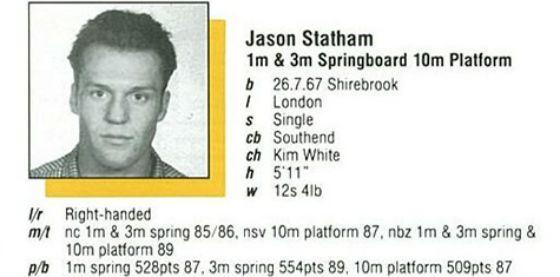 Привет из спортивного прошлого Стэтхэма