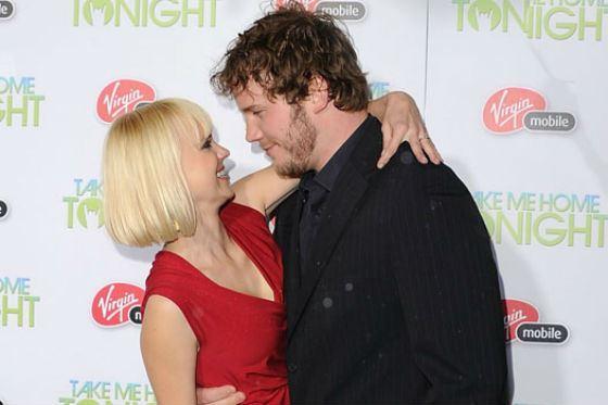 На фото: Крис Прэтт и его будущая супруга Анна Фэрис