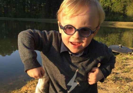 Сына Криса Прэтта и Анны Фэрис зовут Джек