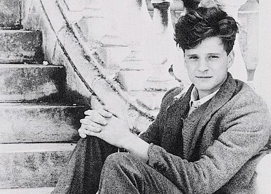 С раннего детства Колин Ферт был очарован театром