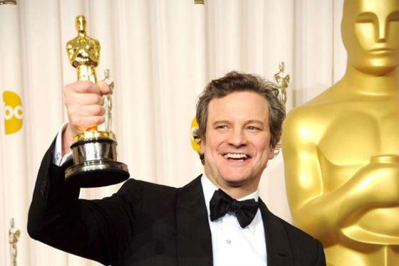 Колин Ферт и его «Оскар» (2011 год)