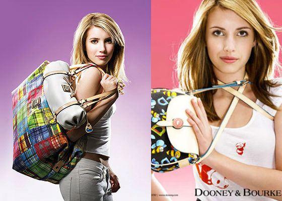 В 15 лет Эмма Робертс стала моделью Doone&Bourke