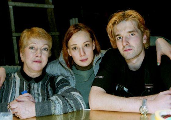 Первый муж Чулпан Хаматовой, Иван Волков, и его мама, Ольга Волкова