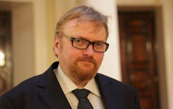 В 2016 Виталий Милонов занял депутатское кресло в Госдуме