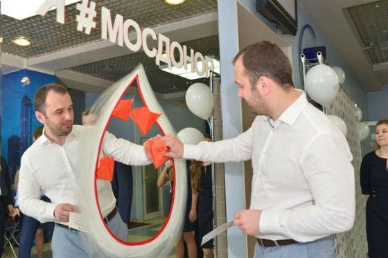 Акция «Мосдонор» была проведена по инициативе Сергея Смирнова