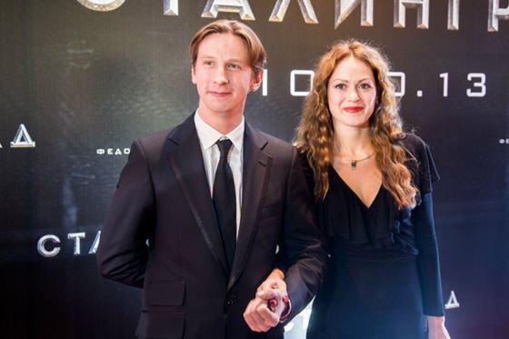 Дмитрий Лысенков и его жена