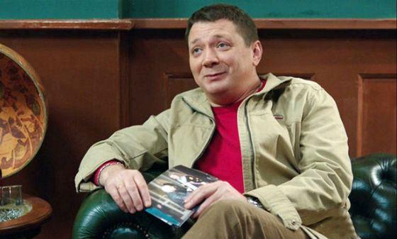 Сериал «Физрук»: Ян Цапник в роли криминального авторитета Хромули