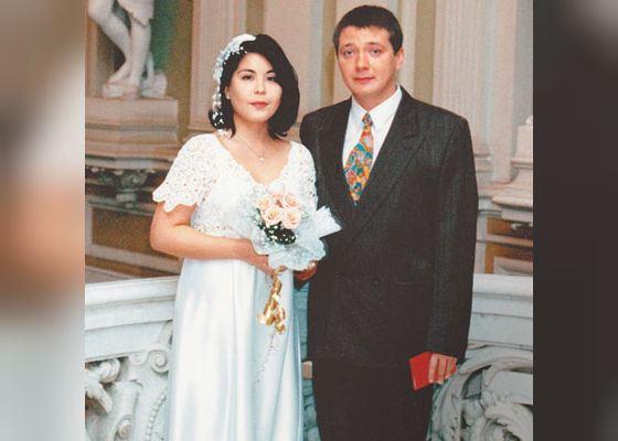 Свадьба Яна Цапника и Галины Цапник (1998 год)