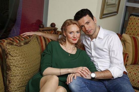 Антон Хабаров и его жена Елена