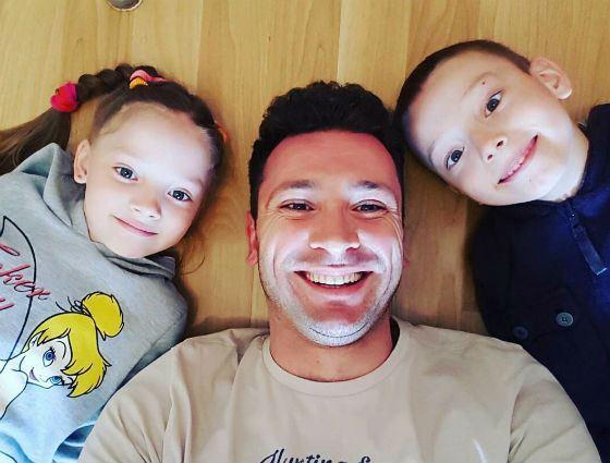 Антон Хабаров и его дети