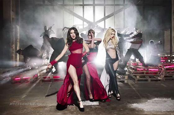 Кадр из клипа «Перемирие»