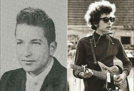 В юности Боб Дилан освоил гитару и губную гармошку