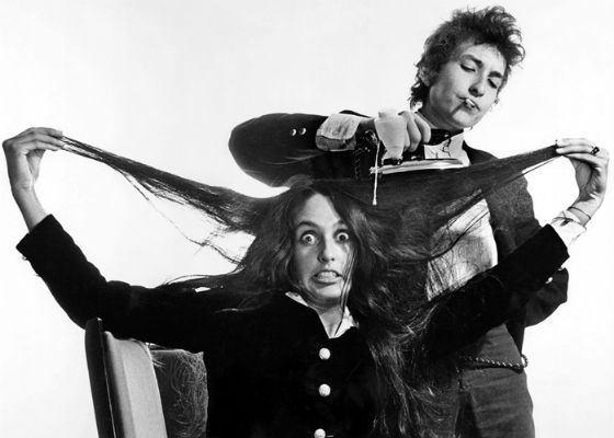 Боб Дилан и Джоан Баэз были коллегами