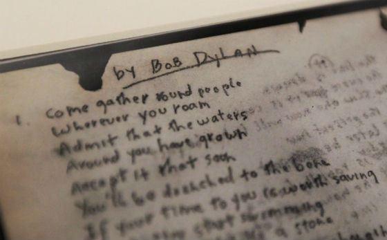Тексты Боба Дилана полны глубоких аллюзий