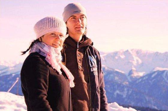 Александр Гудков и его сестра Наташа