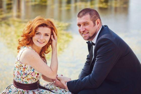 Дмитрий Потапенко с женой Еленой