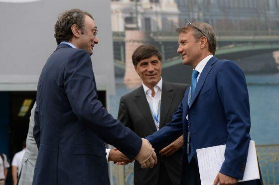 Сулейман Керимов на ПМЭФ-2013
