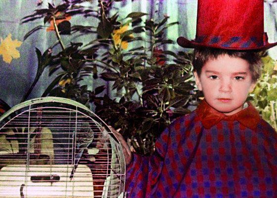 Леонид Закошанский в детстве