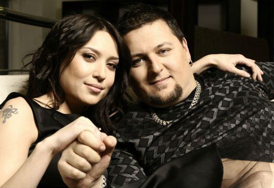 Алена Винницкая и ее муж Сергей Алексеев (Большой)
