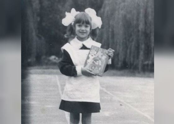 В школе Алена Винницкая мечтала стать дрессировщицей