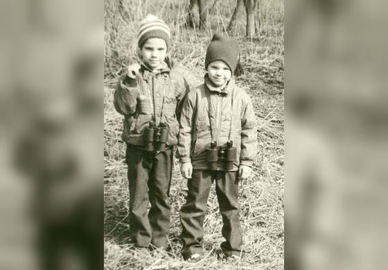 Братья Чадовы: Алексей (справа) и Андрей