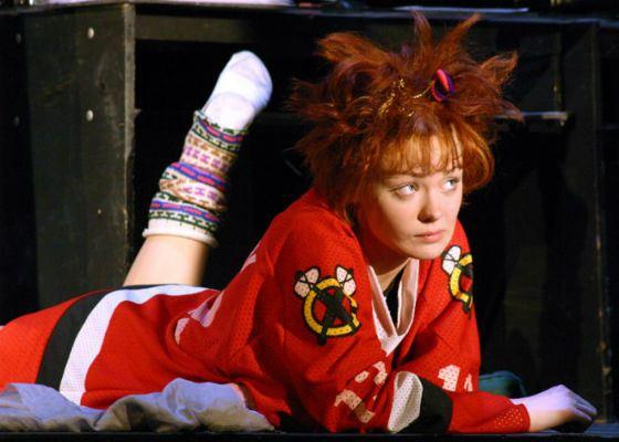 Карина Разумовская в спектакле «Хочу сниматься в кино»