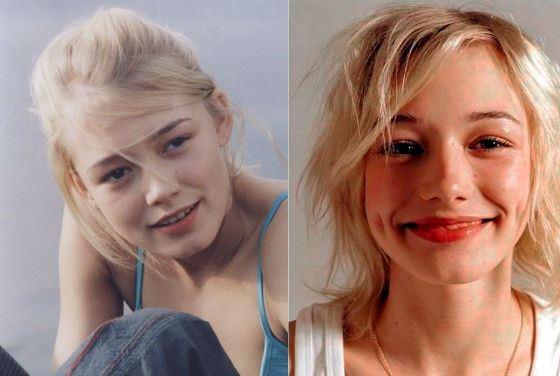 Оксана Акиньшина стала моделью в раннем детстве