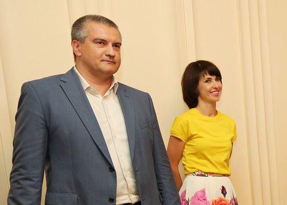 Сергей Аксенов и его жена Елена