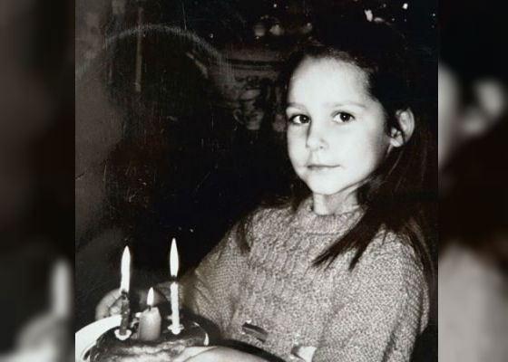Детское фото Глафиры Тархановой