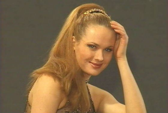 Анна Горшкова начала карьеру модели в 14 лет