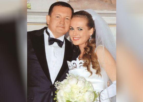Анна Горшкова и ее бывший муж Михаил Борщев