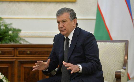 Президент Республики Узбекистан Шавкат Мирзияев